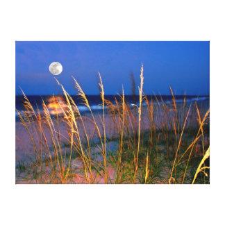 ジャクソンビルのビーチ キャンバスプリント