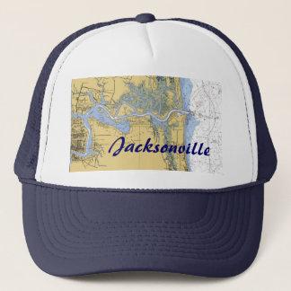 ジャクソンビル、フロリダ航海のな港の図表の帽子 キャップ