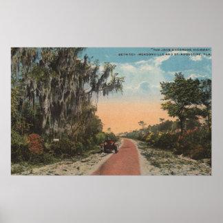 ジャクソンビル、フロリダ-ジョンアンダーソンの意見 ポスター