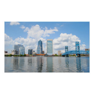 ジャクソンビル、フロリダ ポスター