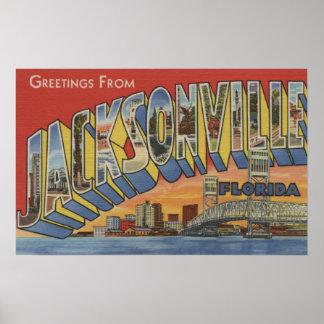ジャクソンビル、フロリダ-大きい手紙場面2 ポスター