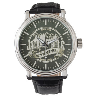 ジャクソンホールの古い円のアンティーク 腕時計