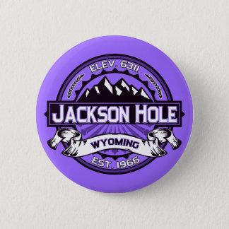 ジャクソンホールボタンのバイオレット 缶バッジ