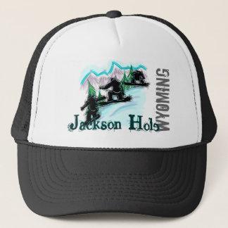 ジャクソンホールワイオミングのスノーボードの帽子 キャップ