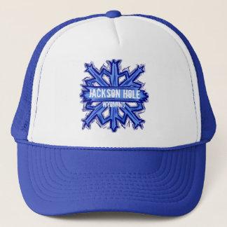 ジャクソンホールワイオミングの雪片の帽子 キャップ