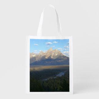 ジャクソンホール山(Tetonの壮大な国立公園) エコバッグ