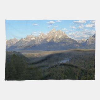 ジャクソンホール山(Tetonの壮大な国立公園) キッチンタオル