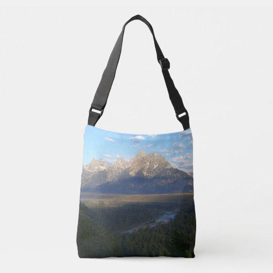 ジャクソンホール山(Tetonの壮大な国立公園) クロスボディトートバッグ