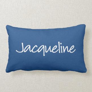ジャクリーンの枕-モダンな原稿 ランバークッション