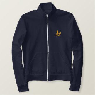 ジャケット刺繍されるバレルXトラック 刺繍入りジャケット