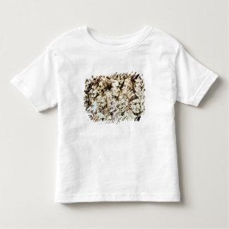ジャコモのポートレートとの自画像 トドラーTシャツ