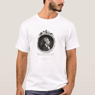 ジャコモ・カサノヴァの円形浮彫りのポートレート、年齢63 Tシャツ