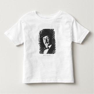 ジャコモ・プッチーニ(1858-1924年) 1924年(photolitho) (b/w トドラーTシャツ