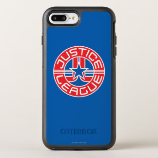ジャスティス・リーグのロゴ オッターボックスシンメトリーiPhone 8 PLUS/7 PLUSケース