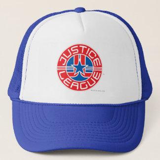 ジャスティス・リーグのロゴ キャップ