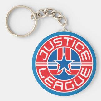ジャスティス・リーグのロゴ キーホルダー