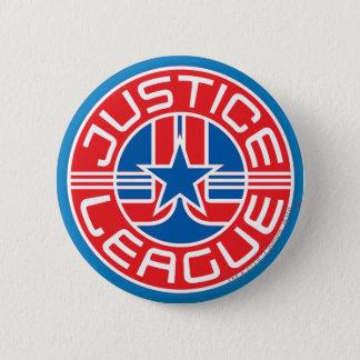 ジャスティス・リーグのロゴ 5.7CM 丸型バッジ