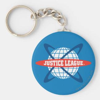 ジャスティス・リーグの地球のロゴ キーホルダー