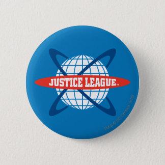 ジャスティス・リーグの地球のロゴ 5.7CM 丸型バッジ