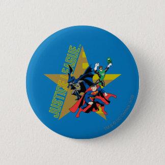 ジャスティス・リーグの星の英雄 5.7CM 丸型バッジ