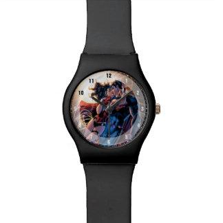 ジャスティス・リーグ喜劇的なカバー#12変形 腕時計