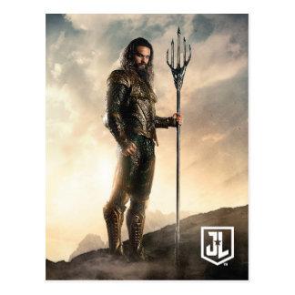 ジャスティス・リーグ戦場の| Aquaman ポストカード