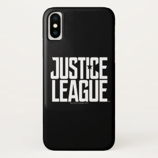 ジャスティス・リーグ|のジャスティス・リーグのロゴ iPhone X ケース
