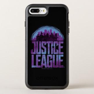 ジャスティス・リーグ|のジャスティス・リーグ都市シルエット オッターボックスシンメトリーiPhone 8 PLUS/7 PLUSケース