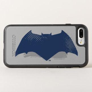 ジャスティス・リーグ|のブラシ及び明暗中間部のバットマンの記号 オッターボックスシンメトリーiPhone 8 PLUS/7 PLUSケース