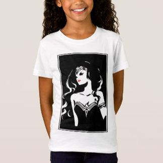 ジャスティス・リーグ|のワンダーウーマンのNoirポップアート Tシャツ