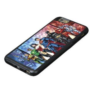 ジャスティス・リーグ|の新しい52ジャスティス・リーグの整列 オッターボックスiPhone 6/6S PLUSケース