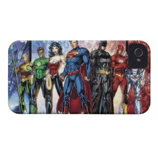 ジャスティス・リーグ|の新しい52ジャスティス・リーグの整列 Case-Mate iPhone 4 ケース