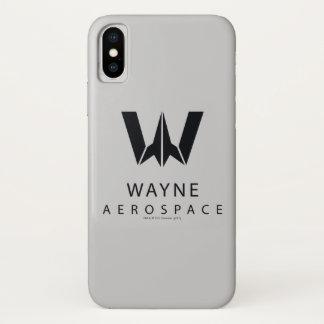 ジャスティス・リーグ|ウェインの大気および宇宙空間のロゴ iPhone X ケース