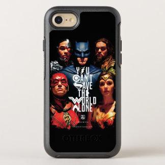ジャスティス・リーグ|単独で世界を救うことができません オッターボックスシンメトリーiPhone 8/7 ケース