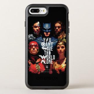 ジャスティス・リーグ|単独で世界を救うことができません オッターボックスシンメトリーiPhone 8 PLUS/7 PLUSケース