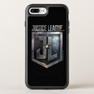 ジャスティス・リーグ|金属JLの盾 オッターボックスシンメトリーiPhone 8 PLUS/7 PLUSケース