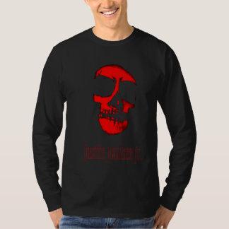 ジャスティンのスカルの長袖 Tシャツ
