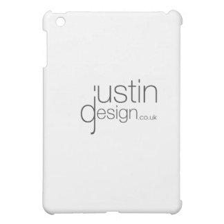 ジャスティンのデザインの白 iPad MINI カバー