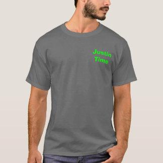 ジャスティンの時間 Tシャツ