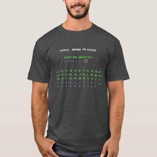 ジャスティンベイリーパスワード Tシャツ