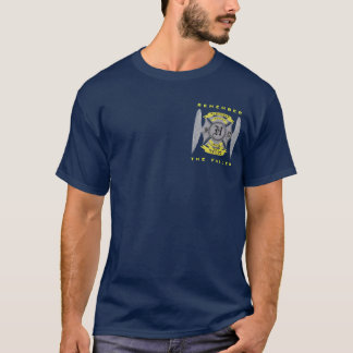 ジャスティンモンローの勝利者ISLERの金捧げ物 Tシャツ