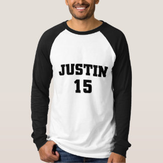 ジャスティン15 Tシャツ