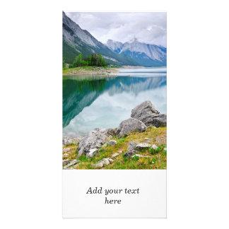 ジャスパー国立公園のmountain湖 カード