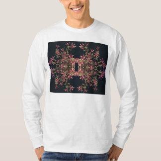 ジャスミンのデザインのメンズ長袖のTシャツ Tシャツ
