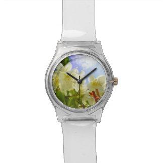 ジャスミンの低空飛行の女性用腕時計 腕時計