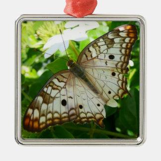 ジャスミンの熱帯自然の写真撮影の蝶 メタルオーナメント