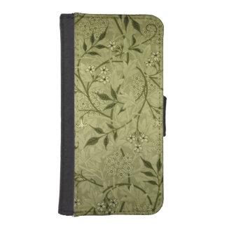 「ジャスミン」の壁紙のデザイン1872年 iPhoneSE/5/5sウォレットケース