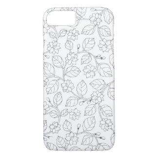 ジャスミンIの電話6箱-白 iPhone 8/7ケース