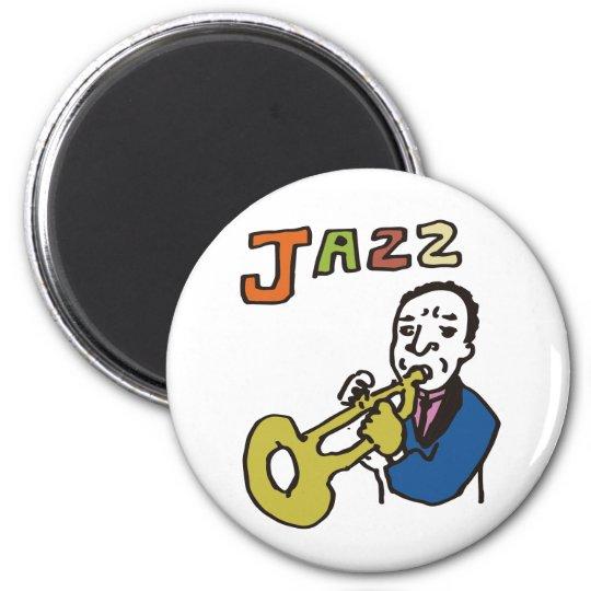 ジャズおやじ マグネット