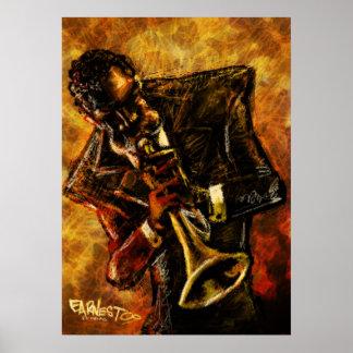 ジャズはポスターを働かせます ポスター